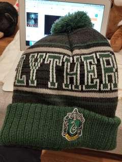 Slytherin harry potter beanie winter hat