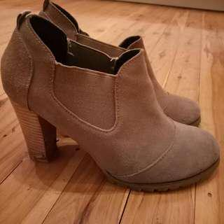 Suede Ankle Boots Mimi Loves Jimi Size 7
