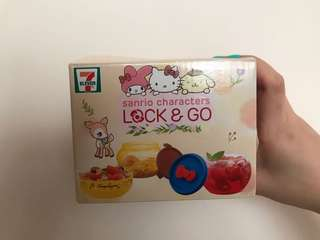 「現貨」7-11 Sanrio Hello Kitty 圓咕 Lock&Go 收納盒 1號