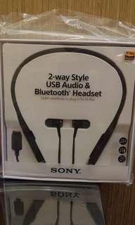 Sony SBH90C (兩用USB DAC高解析度音訊 及 藍牙 耳機)