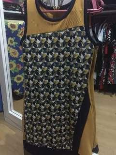 Kamiseta yellow dress