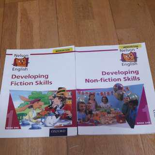 Nelson Developing Fiction & Non Fiction Skills (2 books)