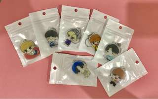 [price reduced] Got7 Keychains (FAN MADE)