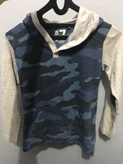 Sweater cotton on Original camo 7-9 th. Pemakaian wajar