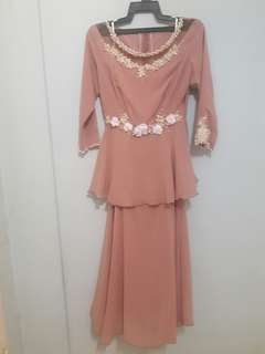 Chiffon Modern Kurung Dress