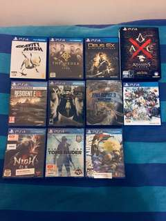 [PS4] Epic game titles up for sale!