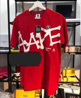 ⓑⓝⓦⓣ Aape Universe T-Shirt (Premium Grade)