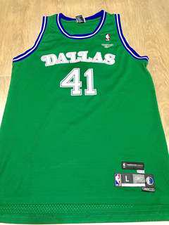 Dirk Nowitzki NBA jersey Dallas Mavericks Reebok L