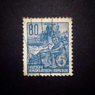 Deutsche Demokratische Republik (DDR) Stamp 1953