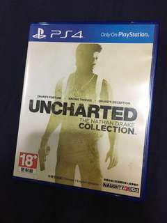 PS4 秘境探險 1-3合集 uncharted collection