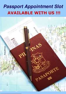 RUSH Passport Appointment (New, Renewal, or Lost) LEGIT💯💯💯💯💯