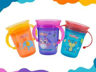 Nuby - Twin Handle 360 Wonder Cup 240ml