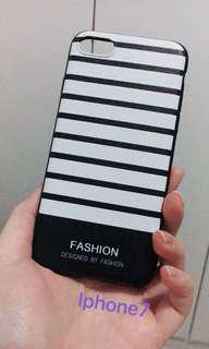 BARU iphone 7 stripes case white