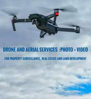 Drone and aerial services