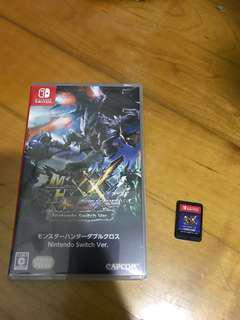Switch Monster Hunter MHXX