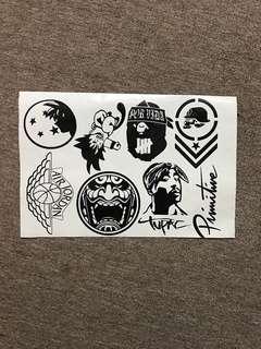 Custom decal sticker