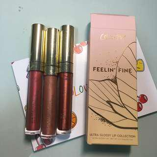 Colourpop feelin fine lip bundle