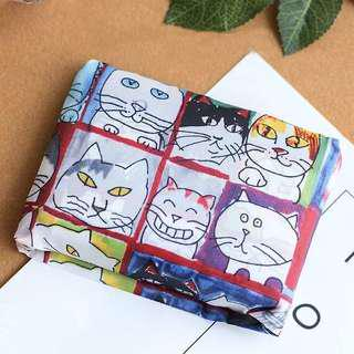 🚚 Cheeky Cats Foldable Shopping Bag | Eco Bag | Recycle Bag | Gift