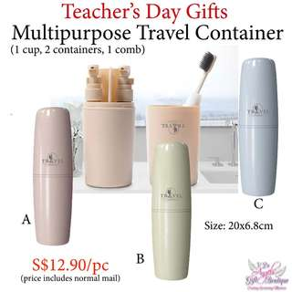 Multipurpose Travel Container - Teachers' Day / Mother's Day / Father's Day / Valentine's Day