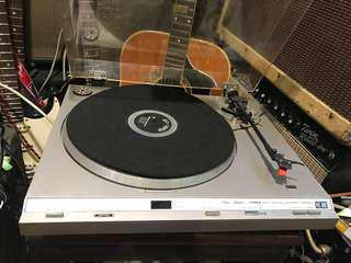 Fisher mt-640 飛燕牌 黑膠唱片機