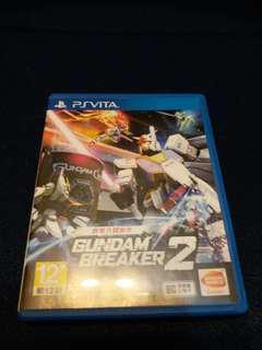 PSV PS Vita Gundam Breaker 2 中文版