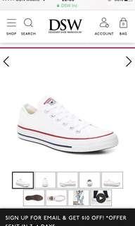 100%new Converse 波鞋 sneaker shoes