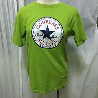 Converse綠色上衣