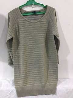 Glittery knit top