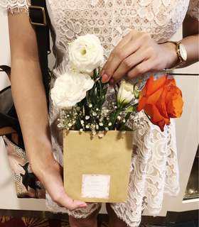 Flowers In A Bag (Orange Bloom)