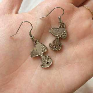 Cute Snoopy Earrings #Letgo80