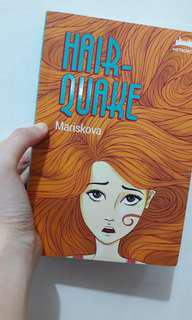 Novel Bekas Metropop Hairquake