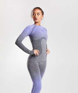 Gymshark Ombre Seamless Long Sleeves Top