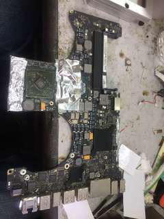 Macbook pro i7 repair Grafic chip