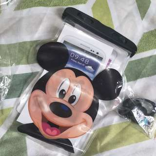 Mickeymouse waterproof case