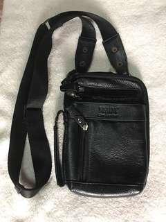 Mcjim leather sling bag
