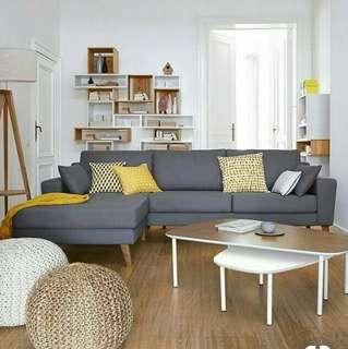 Sofa L santai