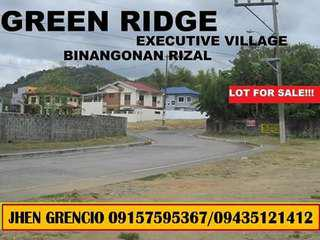 Installment lots in Binangonan