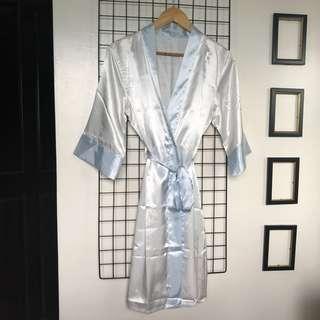 Robe Bridal Silk Sleepwear