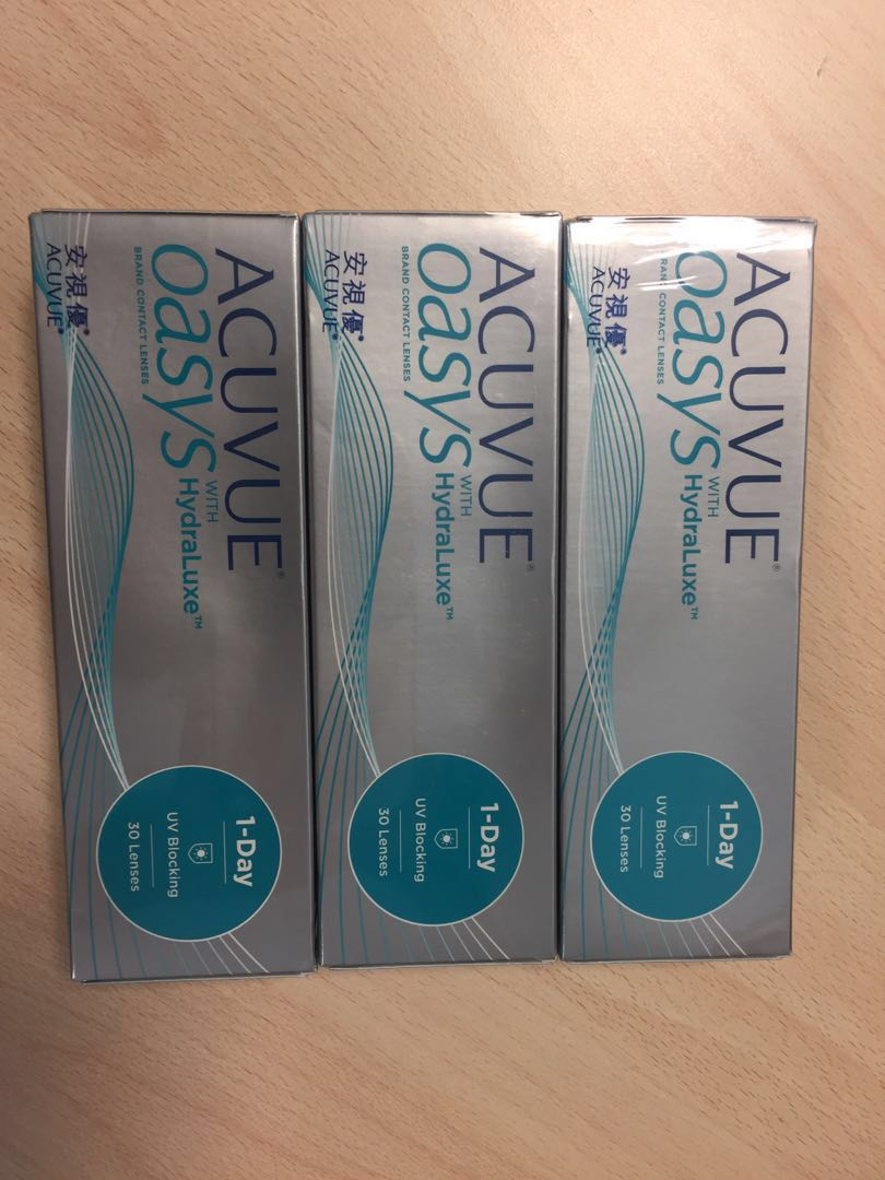 Acuvue Oasys Health Beauty Makeup On Carousell Softlens 2