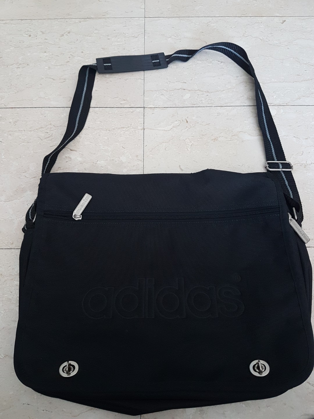 ... super cheap a437b 307e5 Adidas side sling messenger bag, Mens Fashion,  Bags Wallets, ... dbbd06f7e6