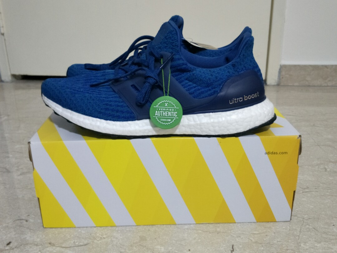 b6288e6a Adidas Ultra Boost 3.0 Royal Blue, Men's Fashion, Footwear, Sneakers ...