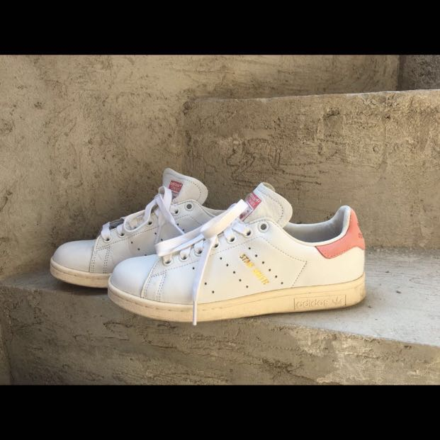 14c61a46a4e29 ... where to buy adidas vintage stan smith ray pink preloved womens fashion  shoes on carousell d30b4