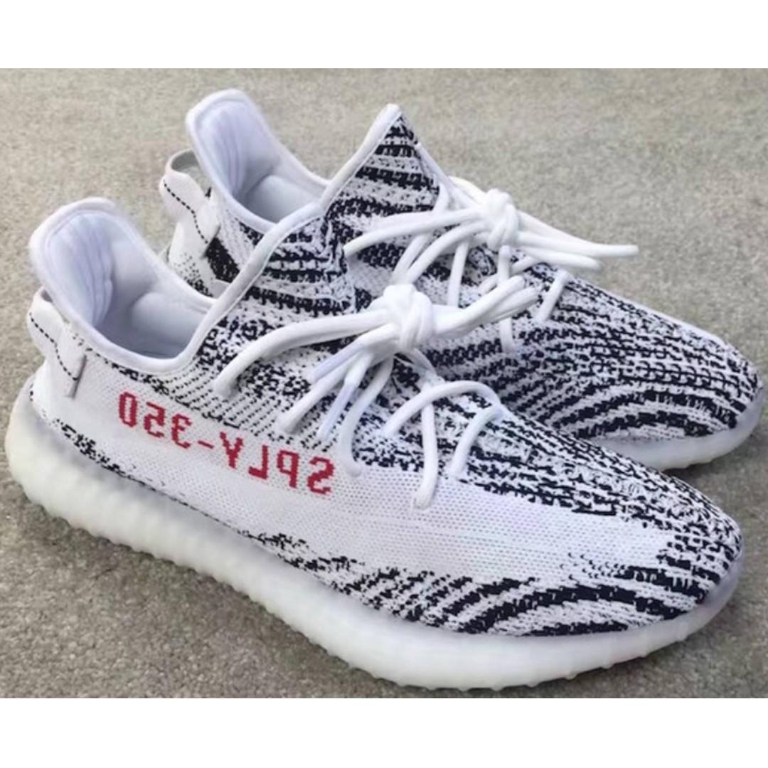 91e75aa56d2ea ... where can i buy adidas yeezy boost 350 v2 zebra bnib mens fashion  footwear sneakers on
