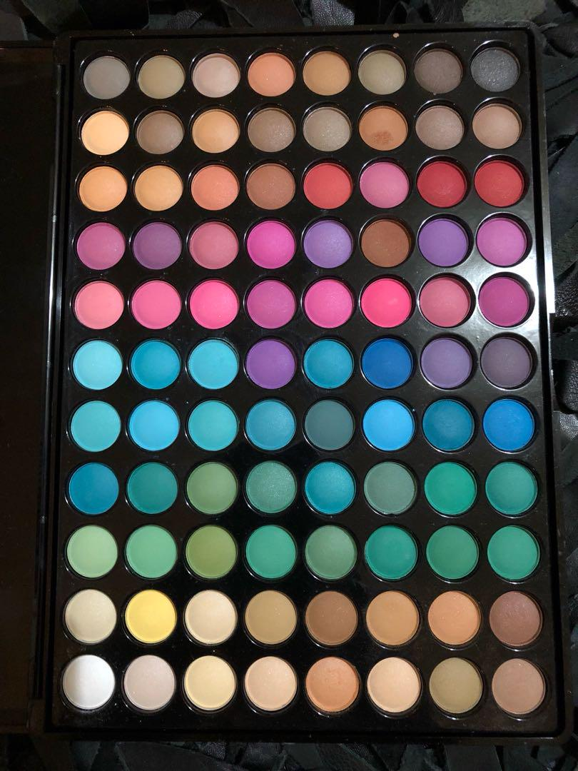 Bh cosmetics colour pallets