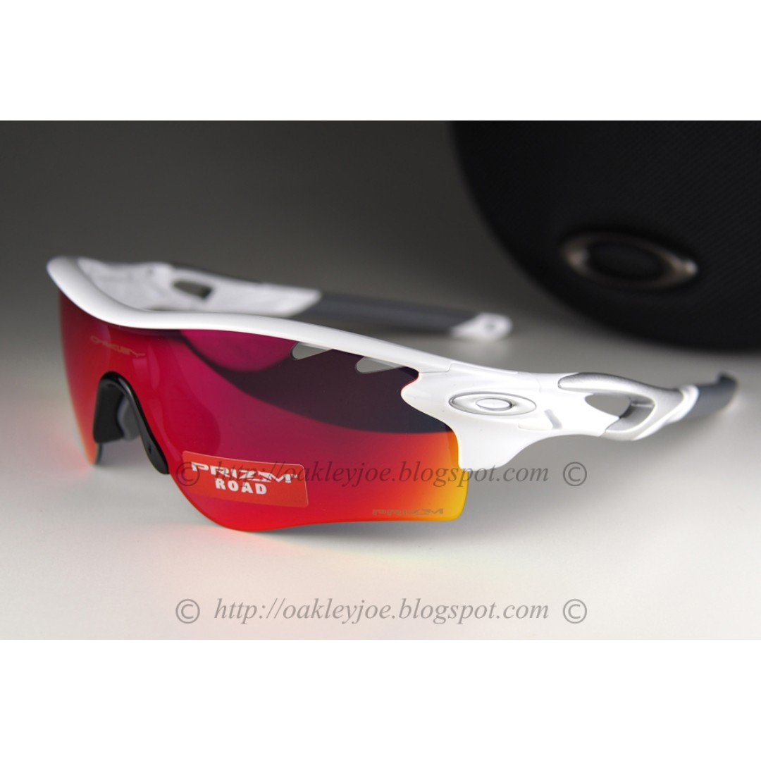 2a18855ab5 BNIB Oakley Radarlock Path Asian Fit white + prizm road iridium ...