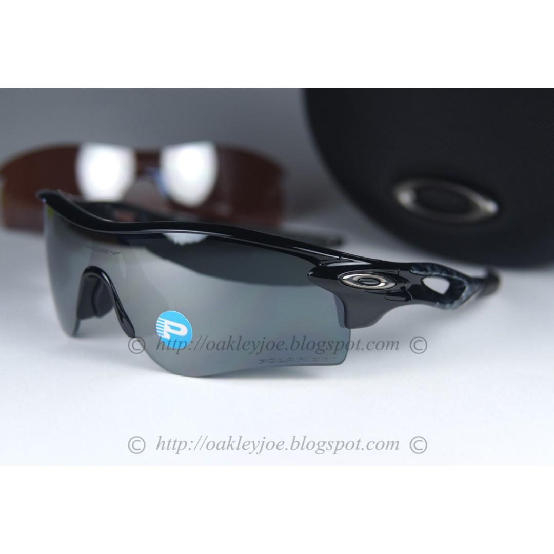 54804077810 BINB Oakley Radarlock Path black + black polarized + vr28 lens ...