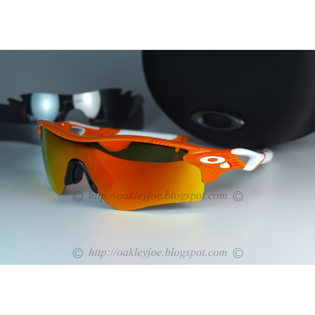 efaf749cd6 Xmas Sale! BNIB Oakley Radarlock Path Fingerprint orange + fire ...
