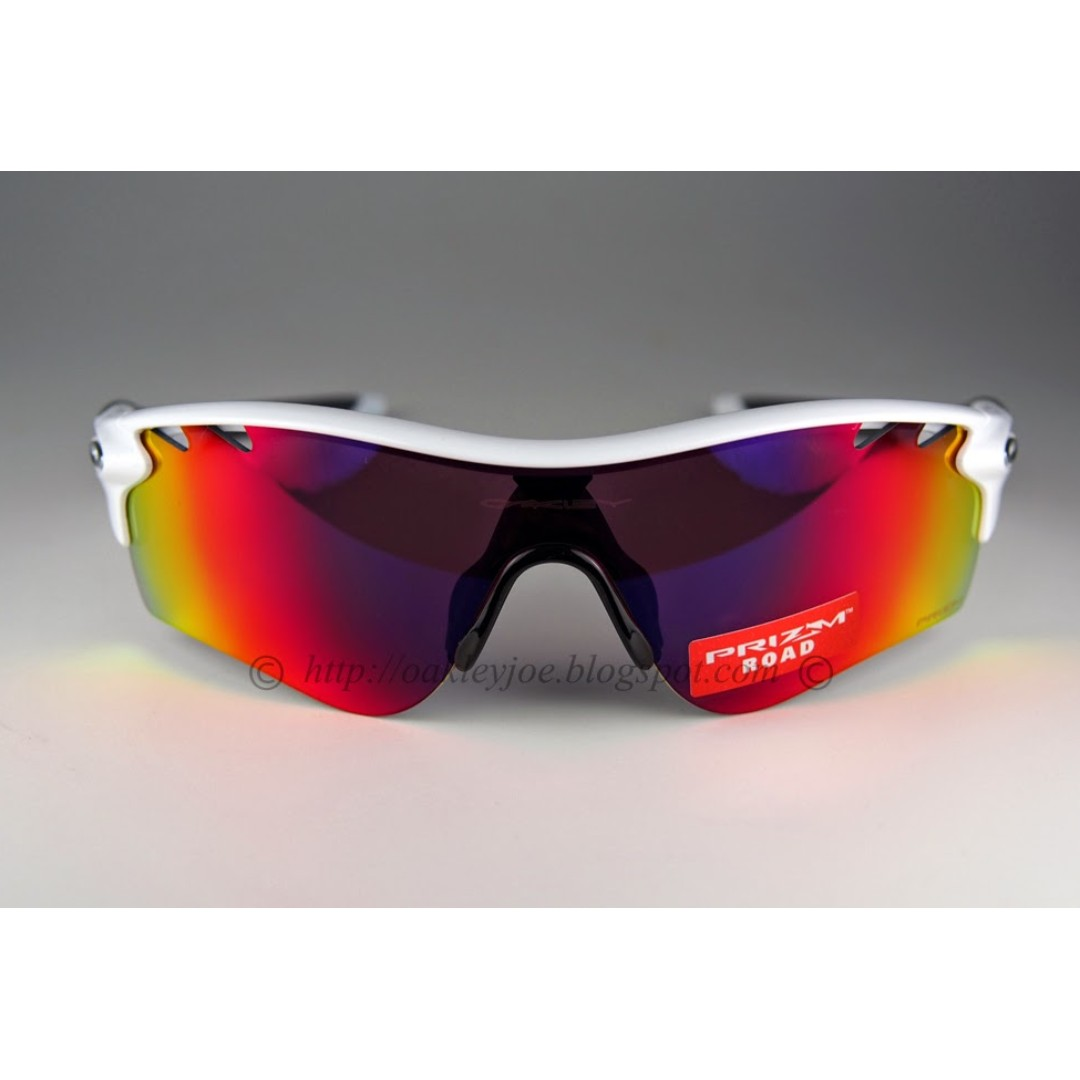 552ba5644d08 ... coupon code for binb oakley radarlock path polished white prizm road persimmon  lens oo9181040 sunglass shades