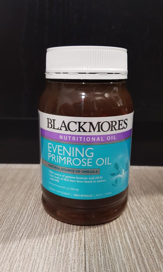 Blackmores Evening Primrose Oil 190 capsules, Health & Beauty, Bath & Body on Carousell