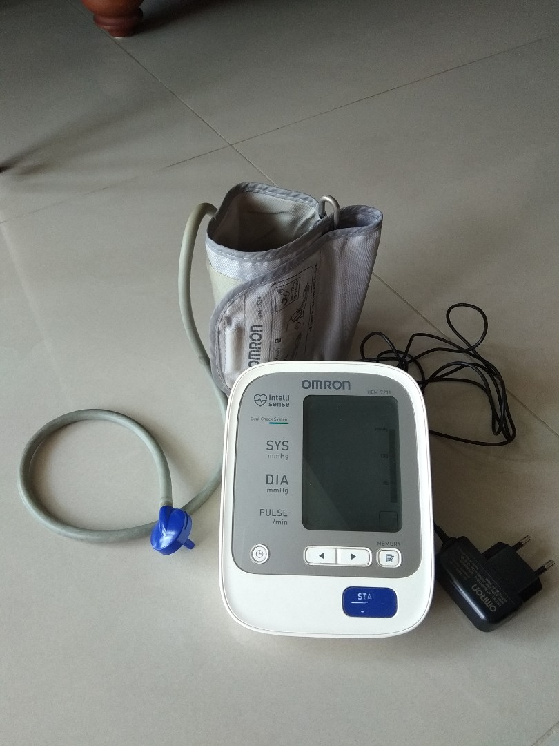 Blood Pressure Monitor Electronics Others On Carousell Omron Hem 7211 Automatic